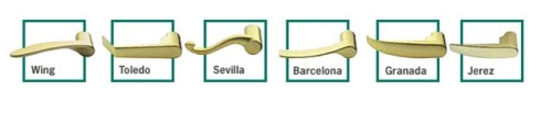 Onity handle types